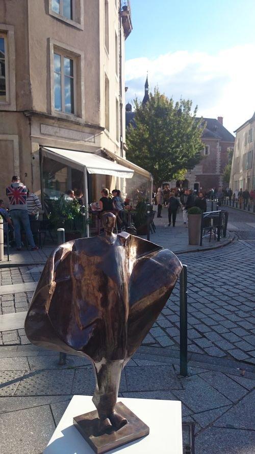 Ville de Nancy - Faubourg en tête de l'art - Milutin Mratinkovic