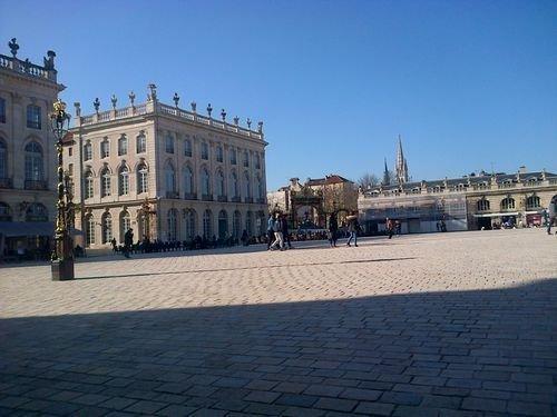 Ville de Nancy - Place Stanislas sous le soleil