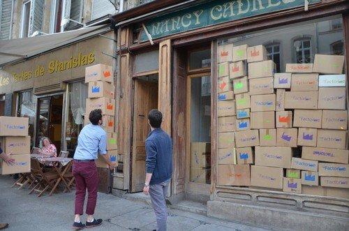 Ville de Nancy - La Factorine dans les cartons