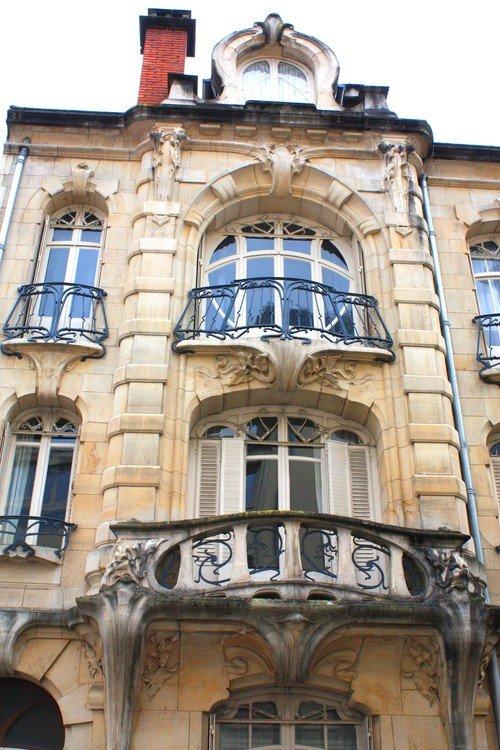 Ville de Nancy - Immeuble Ecole de Nancy de l'architecte Paul Charbonnier