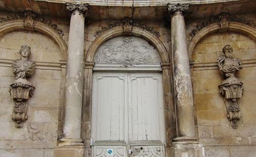 Ville de Nancy - Détail du palais du gouverneur