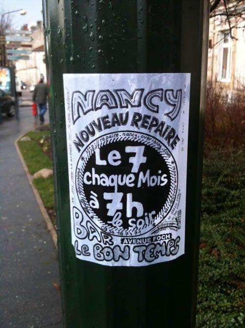 Ville de Nancy - Café Repaire de Là-bas si j'y suis