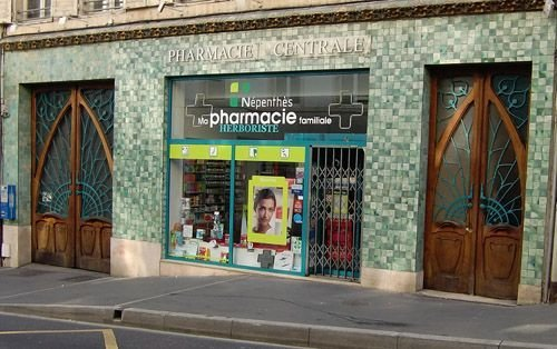 Ville de Nancy - Pharmacie centrale
