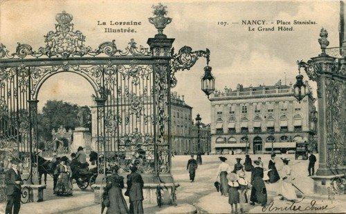 Ville de Nancy - Carte postale de la place Stanislas