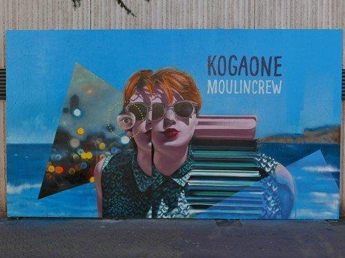 Ville de Nancy - Le Mur par Koga