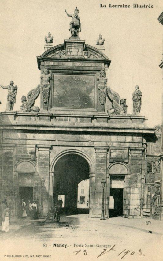 Ville de Nancy - Porte Saint-Georges