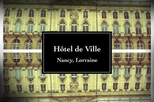 Ville de Nancy - Hôtel de ville