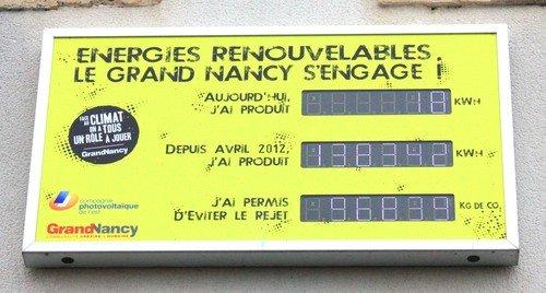 Ville de Nancy - Energies Renouvelables