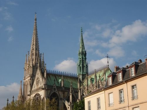 Ville de Nancy Eglise Saint-Epvre