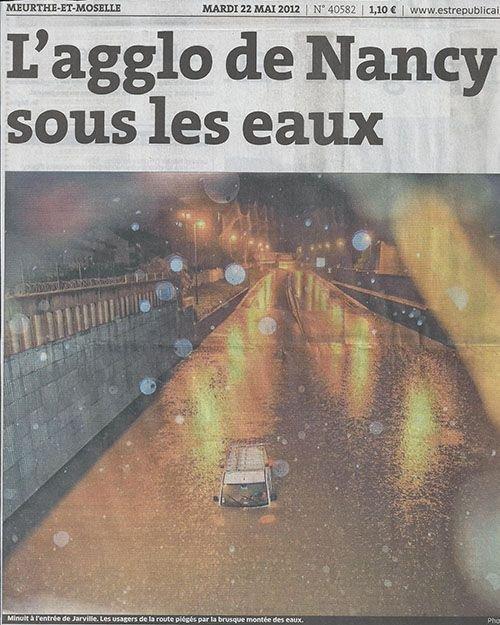 Ville de Nancy - Nancy sous les eaux