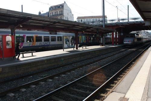 Ville de Nancy - Quai de la gare