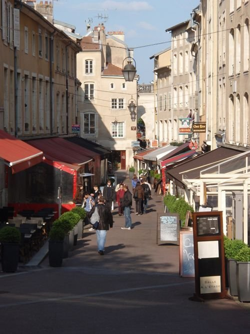 Ville de Nancy Rue Gourmande