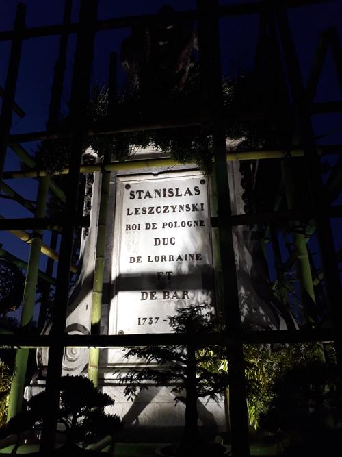 Ville de Nancy - Jardin ephémère de nuit