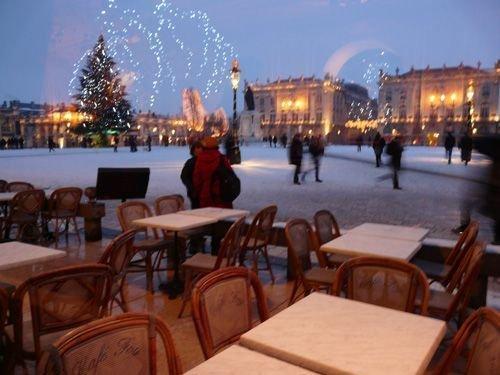 Ville de Nancy Place Stanislas vue du café de Foy