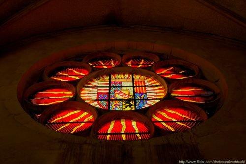 Ville de Nancy Eglise des Cordeliers, armoiries des successeurs de Rene II