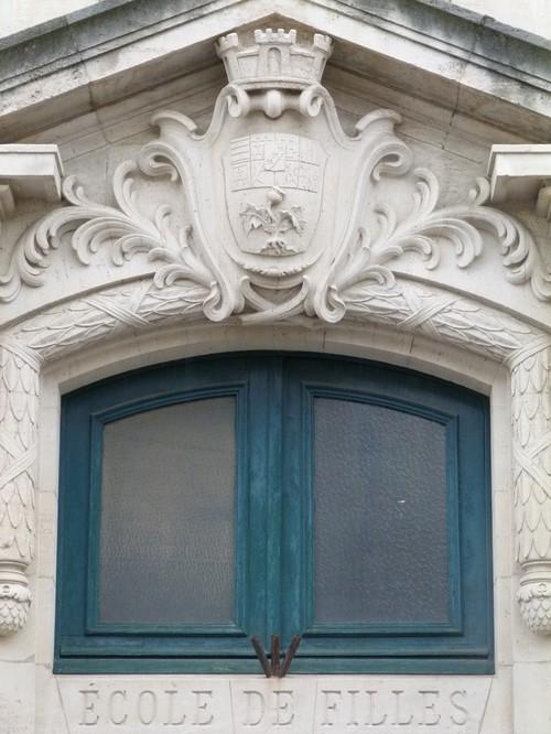 Ville de  Nancy - Fronton école des Tiercelins