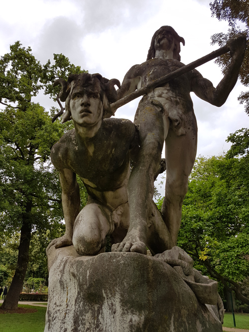 Ville de Nancy - Statue de la Pépinière