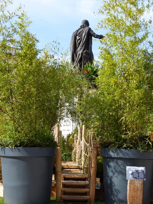 Ville de Nancy - Stan de dos au #JardinEphémère