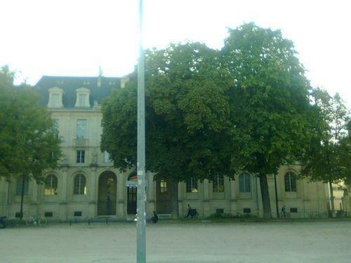 Ville de Nancy - Fac de droit vue de la place Carnot