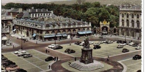 Ville de Nancy - La place Stanislas dans les années 1960