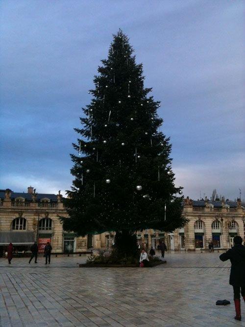 Ville de Nancy - Sapin de Noël place Stanislas