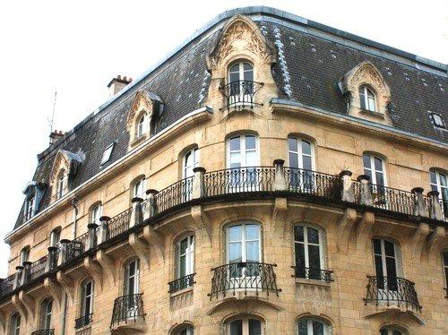 Ville de Nancy - Facades Place de la Croix de Bourgogne
