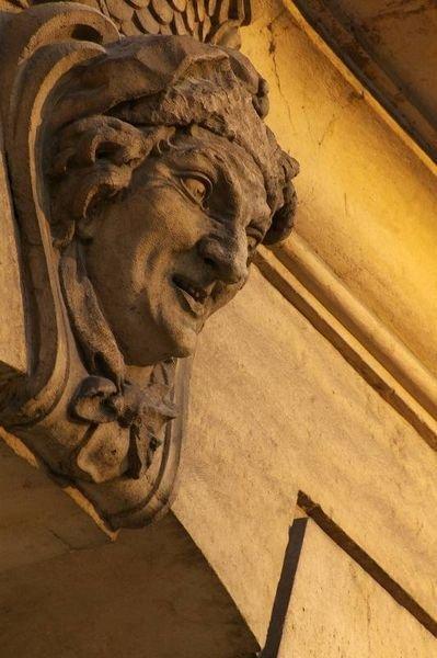 Ville de Nancy - Mascaron de l'Opéra de Nancy