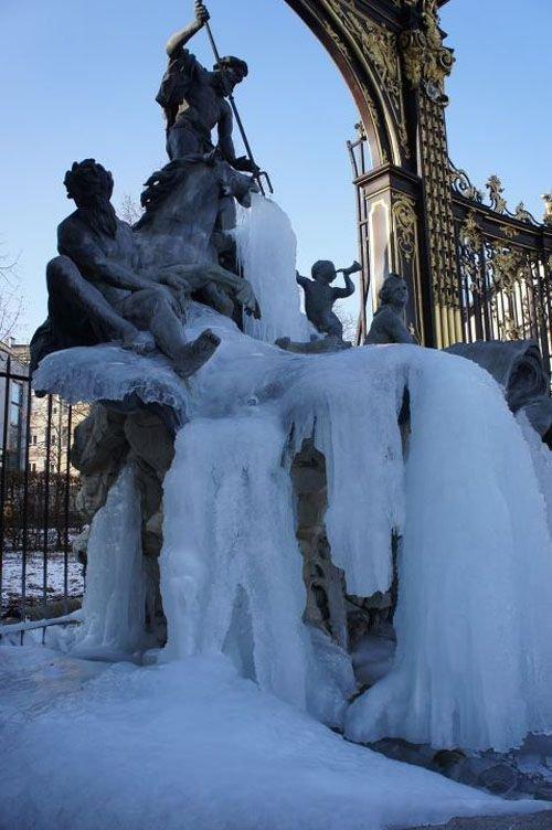 Ville de Nancy - Souvenir de l'hiver