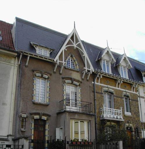 Ville de Nancy - Quartier de Saurupt