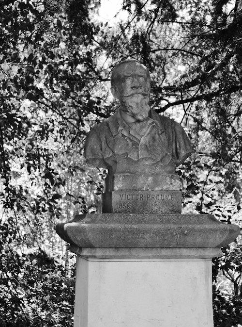 Ville de Nancy - Buste de Victor Prouvé