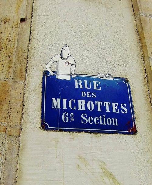 Ville de Nancy - Street art par Monsieur et Madame