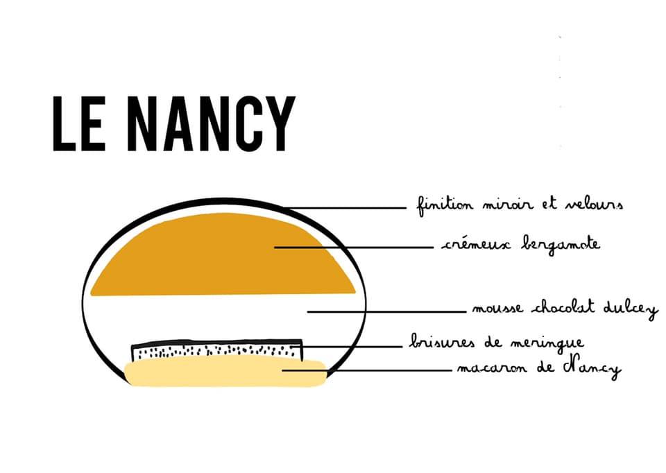 Ville de Nancy - Le Nancy, l'entremet