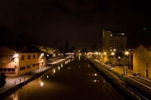 Ville de Nancy - Canal de nuit