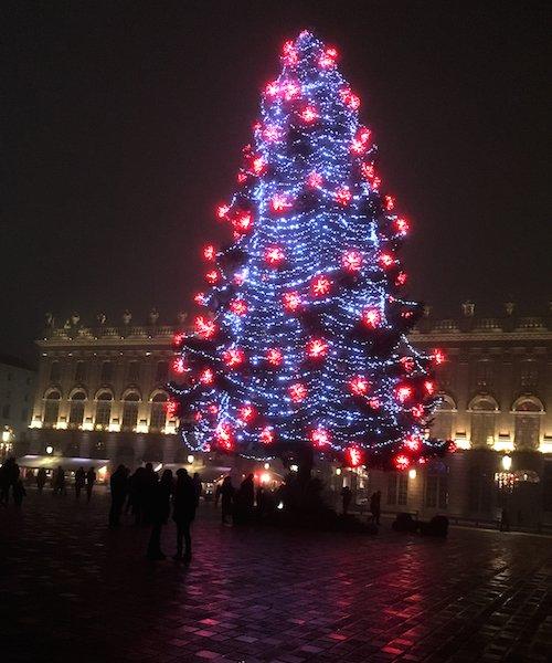 Ville de Nancy - Sapin de Noël de la place Stanislas