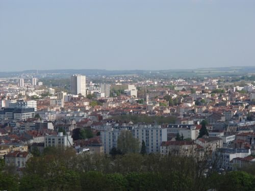 Ville de Nancy Vue panoramique