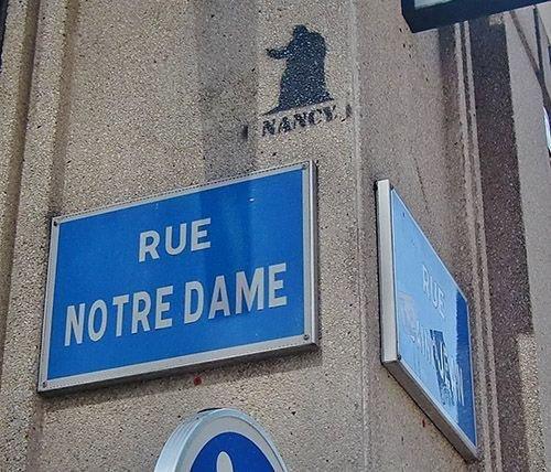 Ville de Nancy - Street Art rue Notre-Dame