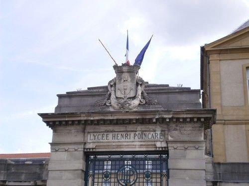 Ville de Nancy - Portail du Lycée Henri Poincaré