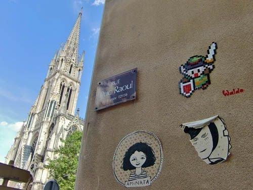 Ville de Nancy - Street art par Waldo