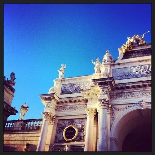 Ville de Nancy - Détail de l'arc Héré place Stanislas