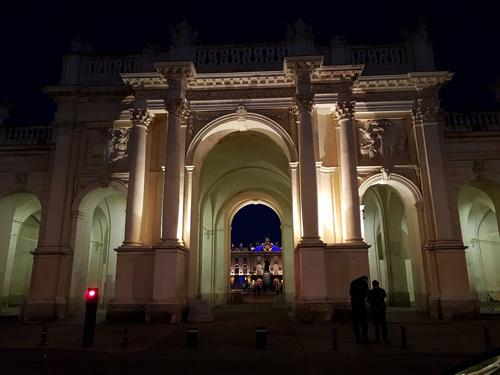 Ville de Nancy - Porte Héré de nuit
