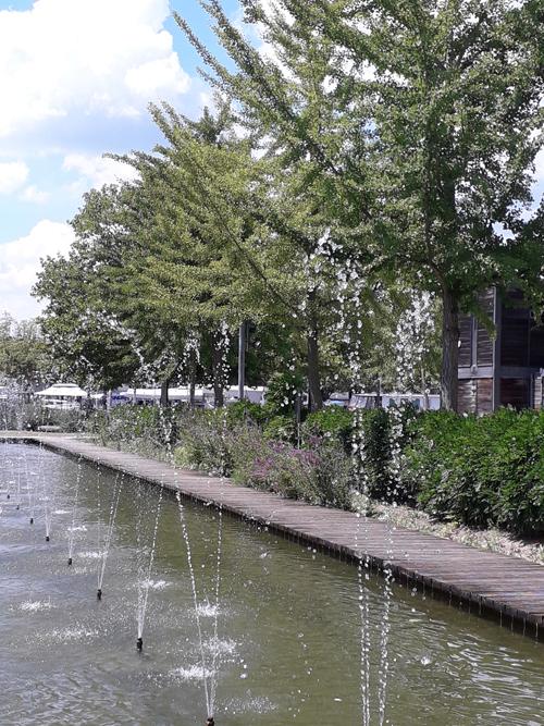 Ville de Nancy - Le jardin d'eau