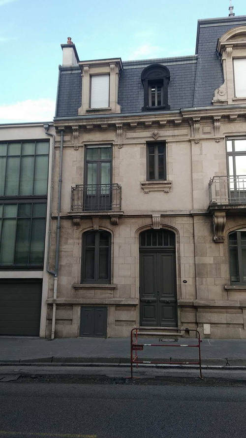 Ville de Nancy - Façades