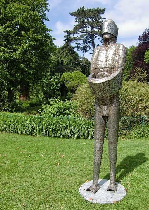 Ville de Nancy - Sculpture de Milutin Mratinkovic