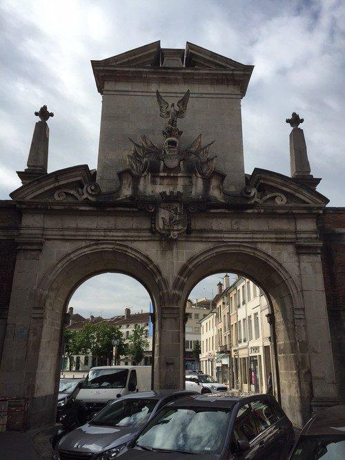 Ville de Nancy - Porte Saint-Nicolas