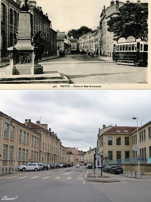 Ville de Nancy - Rue Braconnot