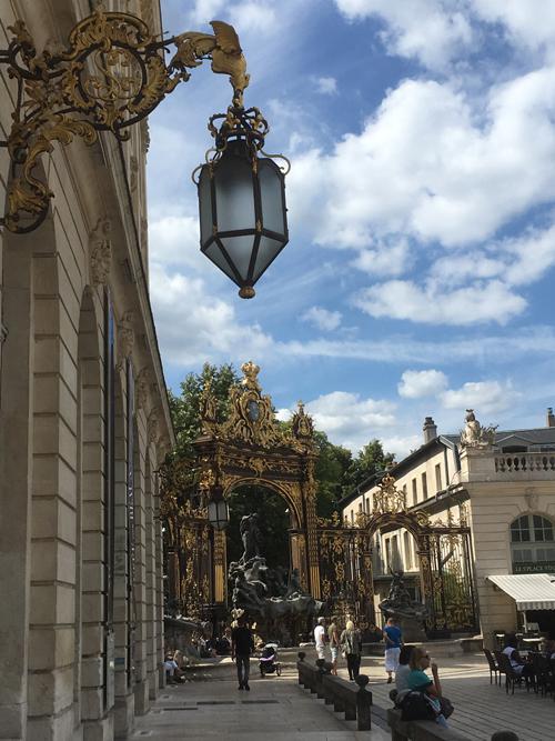 Ville de Nancy - Luminaire de Stanislas