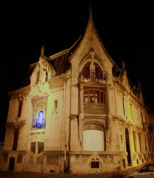 Ville de Nancy Villa de l'imprimeur Bergeret par Weissenburger