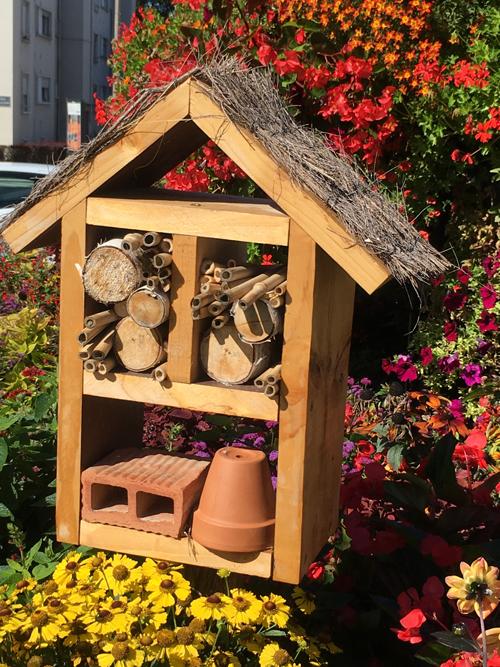 Ville de Tomblaine - Hôtels à insectes #GrandNancy