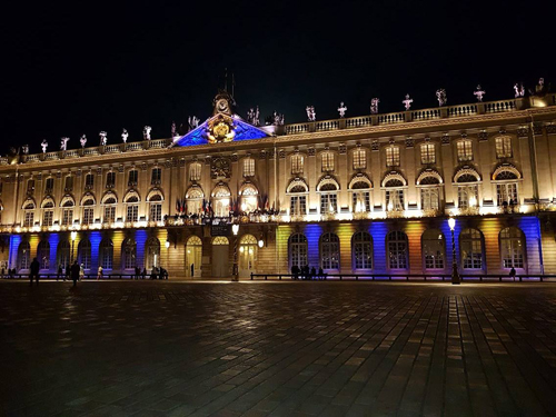 Ville de Nancy - Place Stanislas illuminée