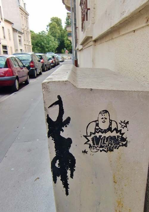 Ville de Nancy - Street art par Monsieur